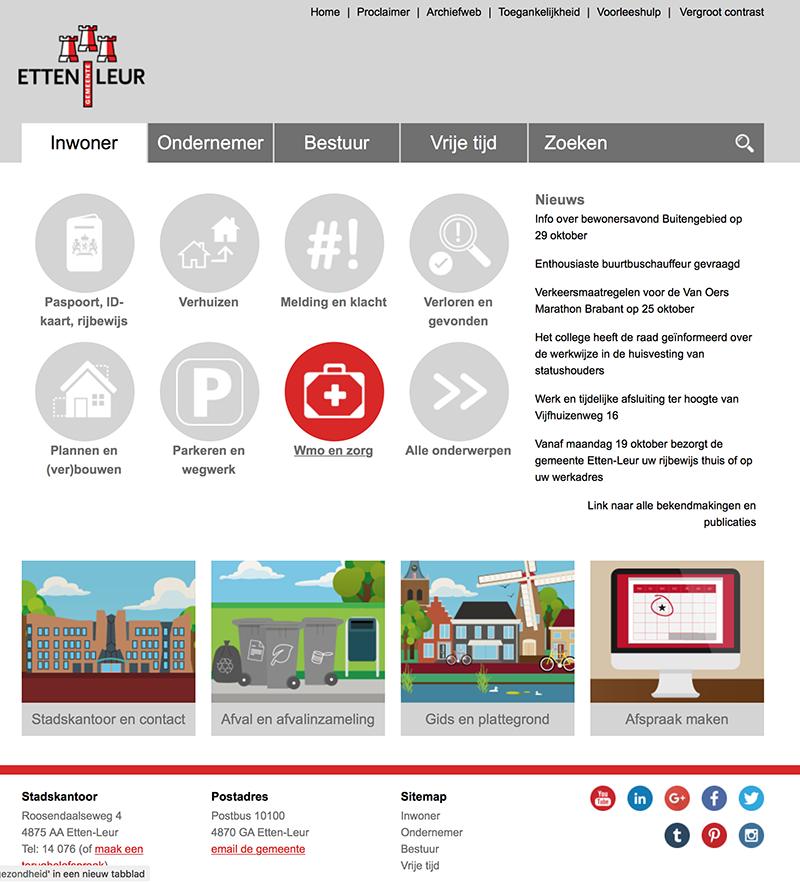 screen website EL- groot